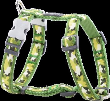 Grön Hundsele Camouflage M