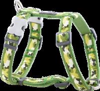 Grön Hundsele Camouflage  L