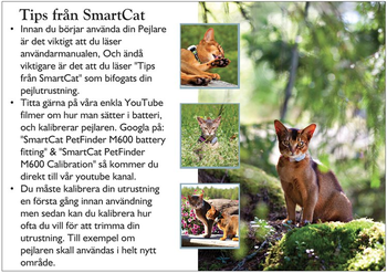 Reklamblad SmartCat tips A5