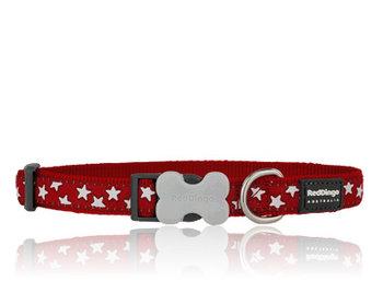 Stars Hundhalsband Rött