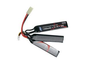 Batteri, 11,1V LI-PO 1300 mAh