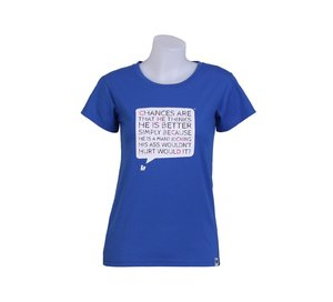 T-shirt, BONK CHICK'D, dam
