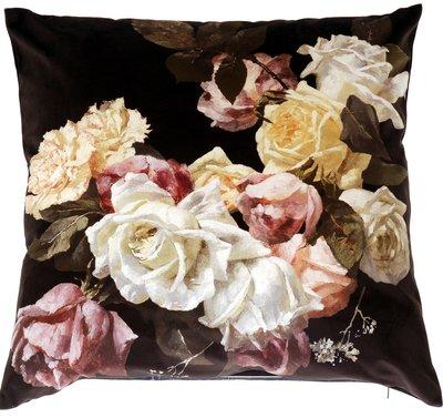 Kuddfodral / kudde Old vintage rosor nr 1  shabby chic lantlig stil