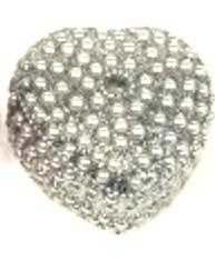 Vita pärlor ask smyckesskrin shabby chic lantlig stil