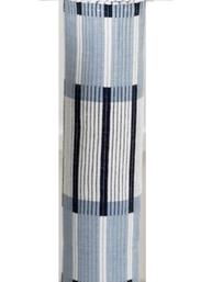 Blåvit ripsmatta 70 cm bred