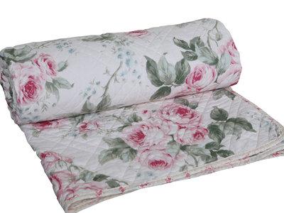 Quilt Rosor Chic Antique shabby chic lantlig stil