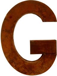 G - rostig i plåt 30 / 50cm