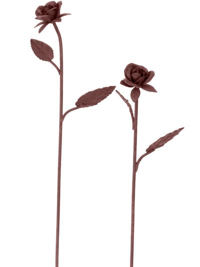 Rostig ros smide 2 storlekar shabby chic lantlig stil
