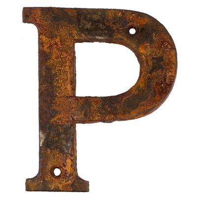 P - rostigt gjutjärn