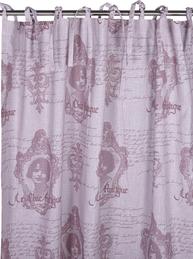 2 st Knytbandslängder rosa Chic Antique shabby chic lantlig stil fransk lantstil