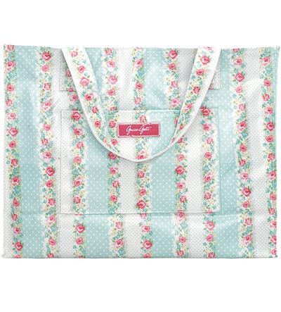 Shopping bag Greengate shabby chic lantlig stil