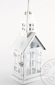 Ljushus stor huslykta vitt slott shabby chic lantlig stil
