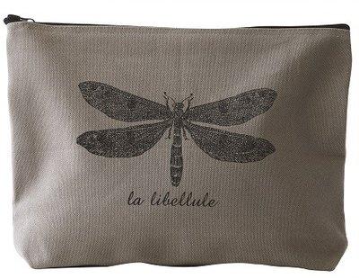 Stor necessär väska sminkväska Dragonfly trollslända Vanilla Fly
