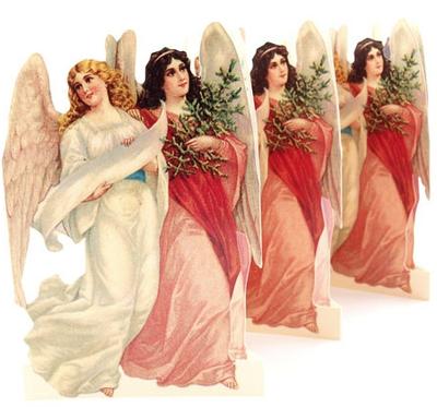 Pappersrad Änglar Rosa