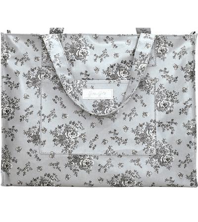 Shopping bag Audrey Grey greengate shabby chic lantlig stil