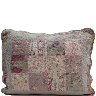 Kuddfodral Vintage Rosor beige rosa shabby chic lantlig stil