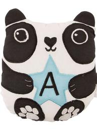 Panda mini kudde A bokstav bomull barnrum shabby chic lantlig stil