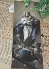 Kort vintagemotiv madonna Jeanne darc Living