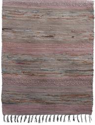 Trasmatta rosa shabby chic lantlig stil