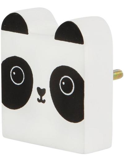 Panda träknopp shabby chic lantlig stil