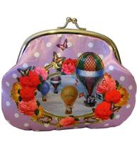Börs med knäppe portmonnä sminkväska Balloon Luftballonger Van Ash.