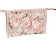 Necessär rosa rosor romantisk shabby chic lantlig stil