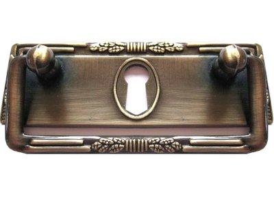 Handtag gammeldags draghandtag antik-guld shabby chic lantlig stil