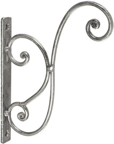 Krok lyktkrok ampelkrok silver shabby chic lantlig stil