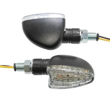 Universal LED blinkers, klar lins. E-märkt.