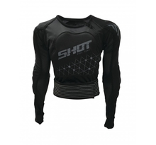 SHOT, SKYDDSJACKA AIRLIGHT EVO KID BLACK/GREY, BARN, L