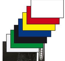 Nummerplåtsplast Tjock Gul 35*80 cm