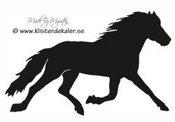 Häst i trav