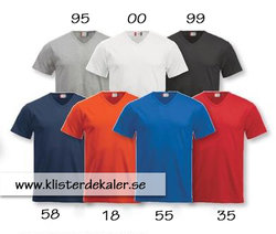 V-neck t-shirt, Fashion T unisex