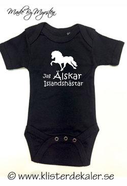 Cute Body whit an Icelandic horse print