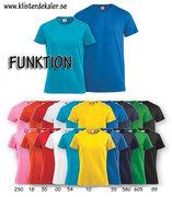 Funktions T-shirt i Dam & Herr/unisex