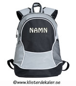 Backpack reflective- printed namne