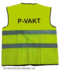 Reflexväst P-VAKT