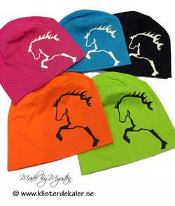 Hat Icelandic horses