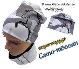 Camo-mössan med stort Islandshästtryck