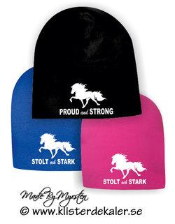 Mössa STOLT och STARK Islandshäst 1