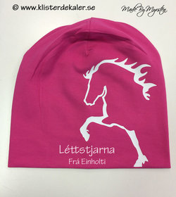 Hat Icelandic horses with your own names prints