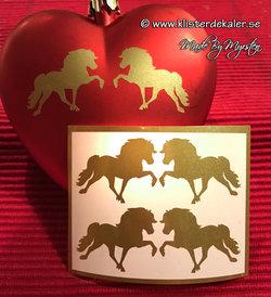 Miniature 4-pack icelandic horse