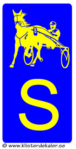S stickers horse