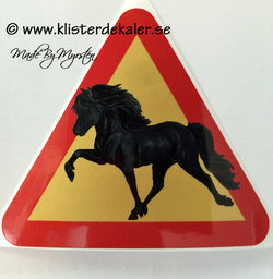 Reflective Decal Icelandic horse