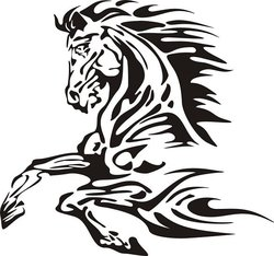 Horse decal 3