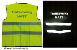 Reflexväst Trafikövning HÄST