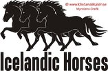 Trippel Islandshäst 4 Tölt med text