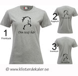 T-shirt Icelandic horse,  Your name print