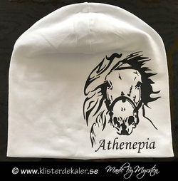 Hat  horses with your own names prints