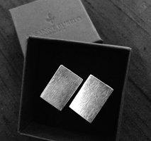 Manschettknappar i silver